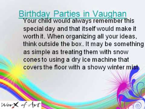 Best Birthday Party Places in Richmond Hill