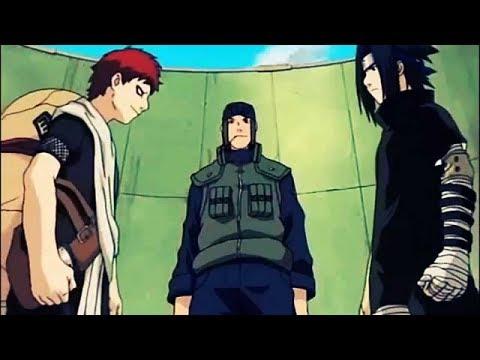 Sasuke Vs Gaara English Sub | Sasuke Vs Gaara English Dub