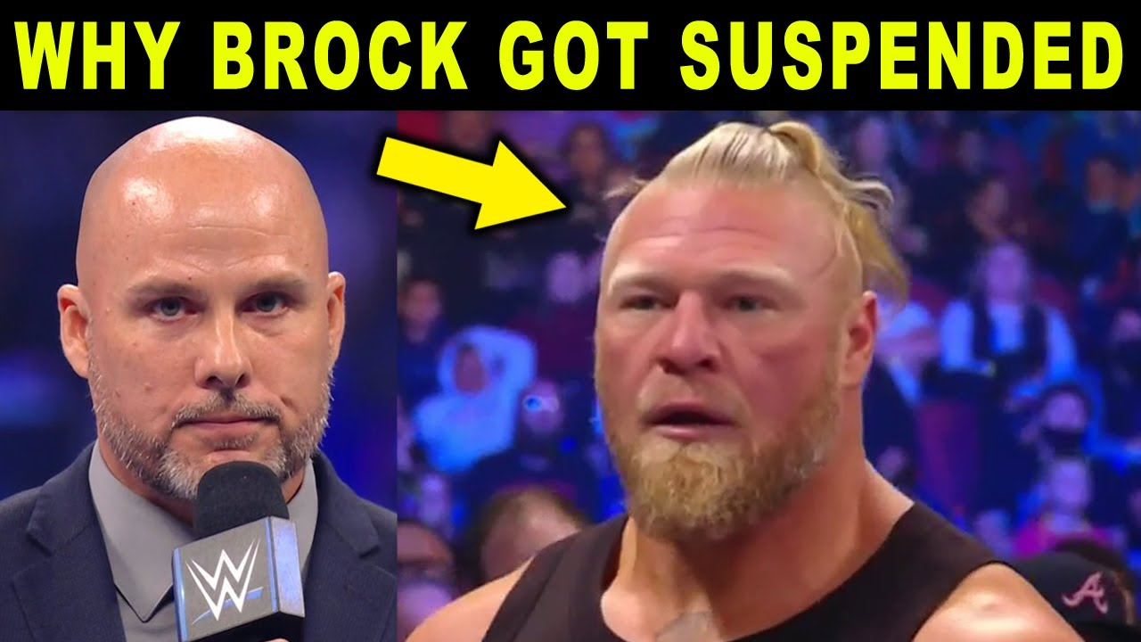 Download Real Reason Why Brock Lesnar Got Suspended by WWE