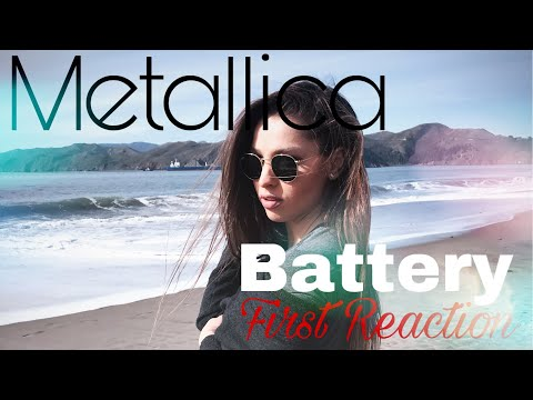 First Reaction To Metallica - Battery CRAZY SONG