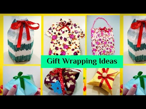 6 Fantastic Gift Wrap Ideas | DIY Paper Craft | How to Wrap Gift Ideas