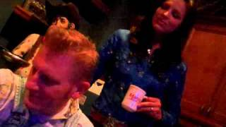 Joey and Rory at the Dallas Bull