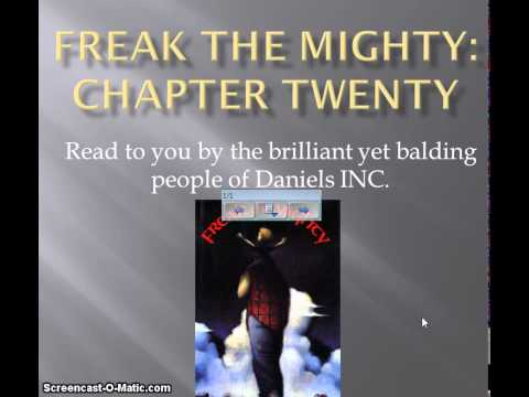 Freak the Mighty chapter 20