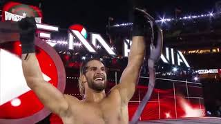 ALL OF SETH ROLLINS WRESTLEMANIA WIN LOSS