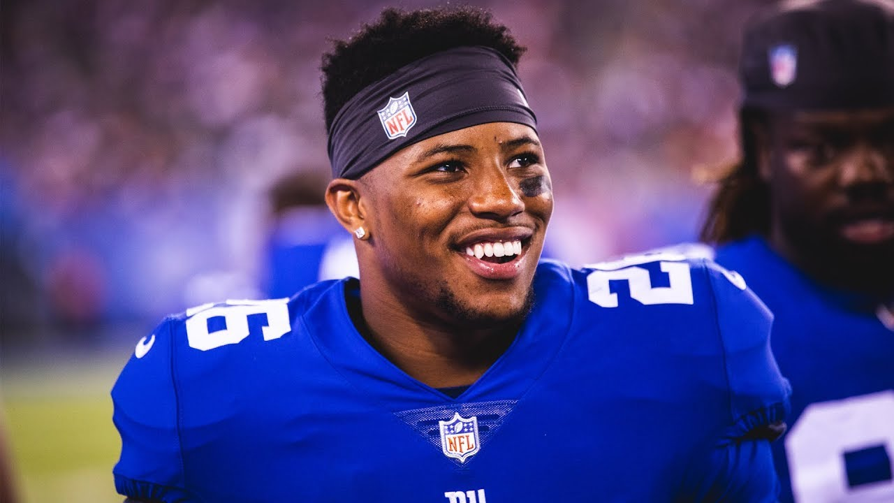Image result for saquon barkley smile