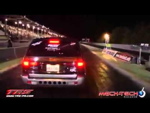 MITSUBISHi EXPO 4G63 AWD (LA TURBO WAGON) 10:34@132MPH