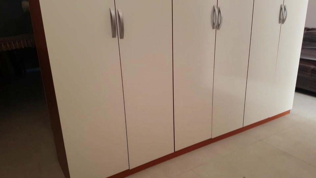 Cucina Ciliegio E Panna armadio 6 ante ciliegio – panna usatorigenerato - youtube