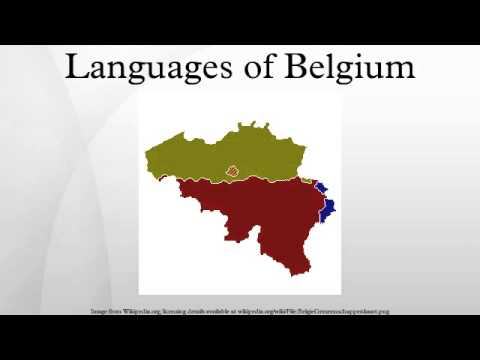 Languages of Belgium YouTube
