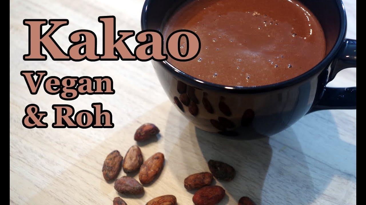 Vegan + Rohkost: Cremiger (Trink) Kakao + über die Flexibilität in der Küche!