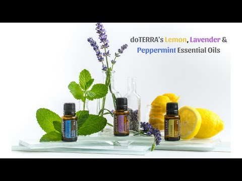 how-to-use-doterra's-lemon,-lavender-&-peppermint-essential-oil