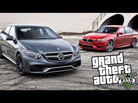 MERCEDES VS BMW - GTA V ONLINE