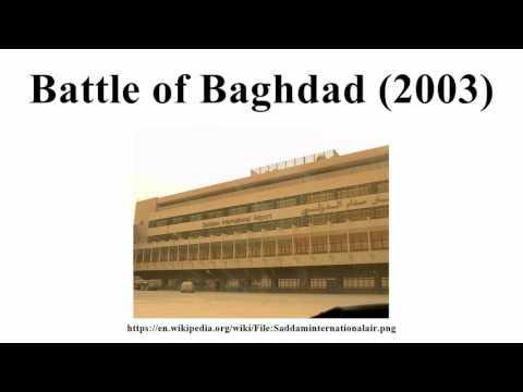 Battle of Baghdad (2003)