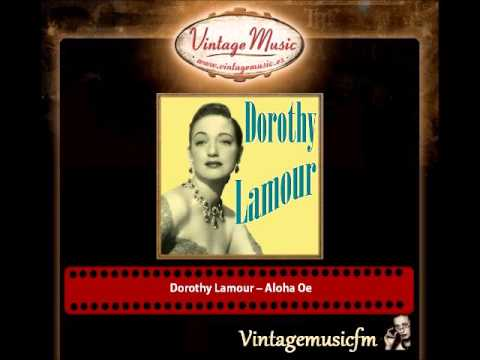 DOROTHY LAMOUR Vocal Jazz. Lulubelle , My Bill , Aloha Oe , That Old