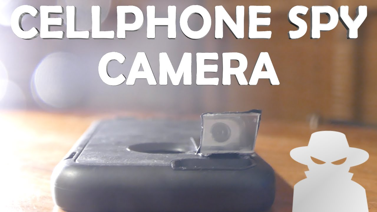 spy camera to cell phone