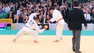 平成30年全日本柔道選手権 垣田vs長尾