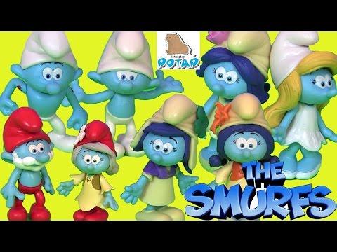 Видео для Детей #Смурфики #Тролли. ЗАТЕРЯННАЯ ДЕРЕВНЯ. The Smurfs. Lost Village. Тролли Мультик
