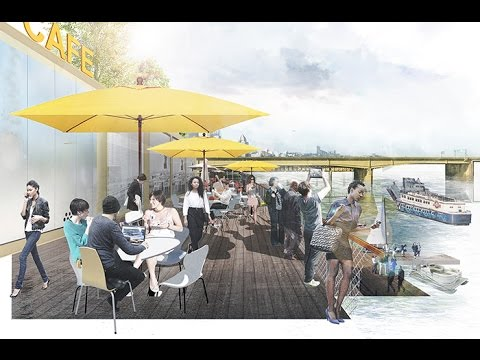 Pittsburgh's Strip District Riverfront Park: Introducing a vision