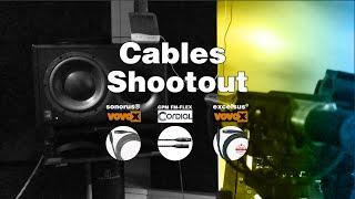 Cable shootout : VOVOX sonorus® | COrdial cpm-fm-flex | VOVOX excelsus®