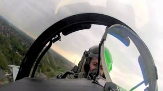 Onboard Footage of a Typhoon Landing at RAF Northolt