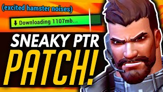 Overwatch Suspicious PTR Patch w NEW FEATURES Reaper's Slow Downfall