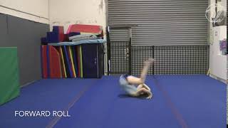 Forward Roll Floor (Testing skill)
