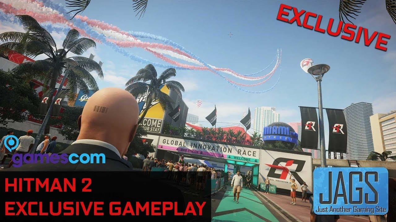 Hitman 2 Gamescom 2018 Gameplay Exclusive New Hitman 2 Gameplay