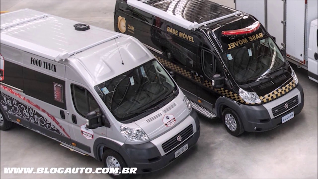 fiat ducato 2018 conhe a todas as vers es blogauto youtube. Black Bedroom Furniture Sets. Home Design Ideas
