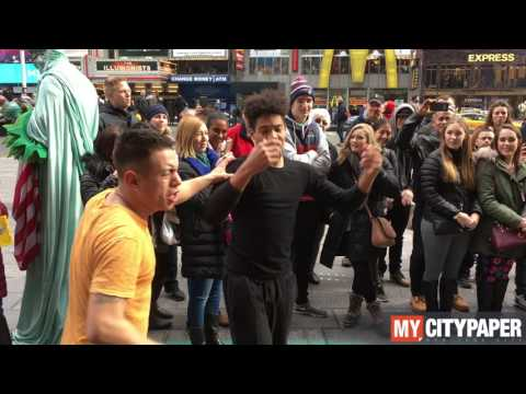 Flipping out in New York City!