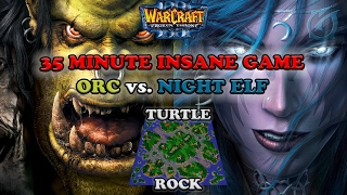 Grubby | Warcraft 3 The Frozen Throne | Orc vs. NE - 35 Minute Insane Game - Turtle Rock