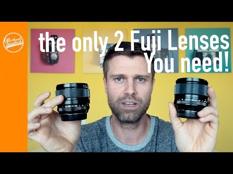 The only 2 lenses you need for the Fujifilm X System Part 1 | Fujifilm X-Photographer's Choice