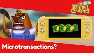 Microtransactions and Animal Crossing New Horizons