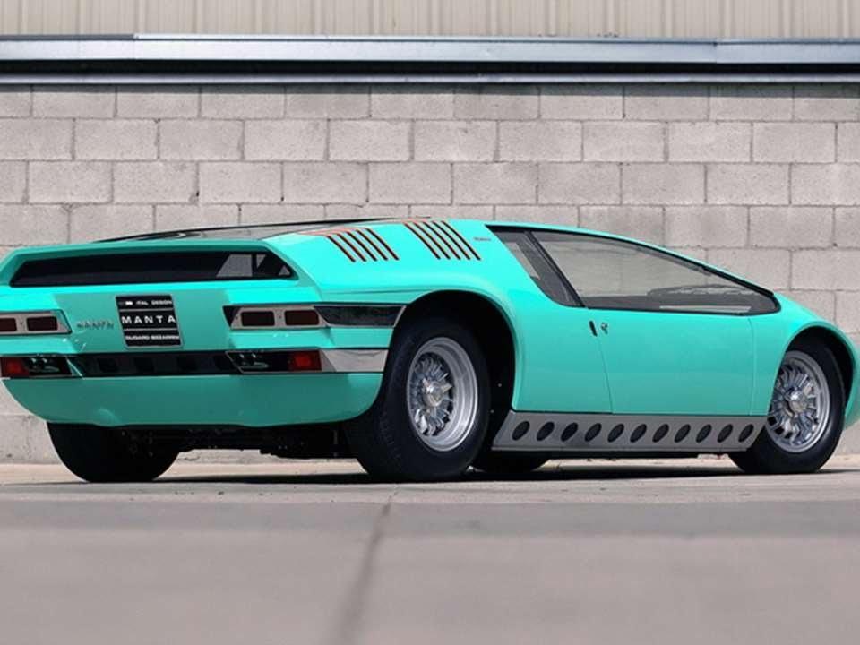 Bizzarrini Manta Italdesign Prototype Car Youtube
