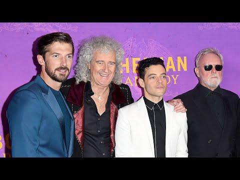 BOHEMIAN RHAPSODY World Premiere - Rami Malek, Brian May, Roger Taylor, Lucy Boynton, Gwilym Lee