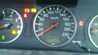 Nissan X-trail 2.2 dci Cold Start -25c