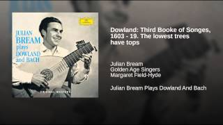 Dowland: Third Booke of Songes, 1603 - 19. The lowest trees have tops