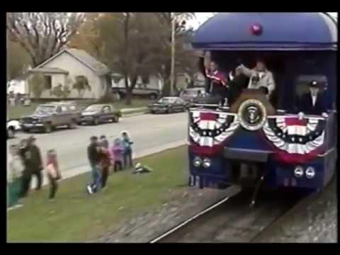 Spirit Of America George W Bush Campaign Train Youtube