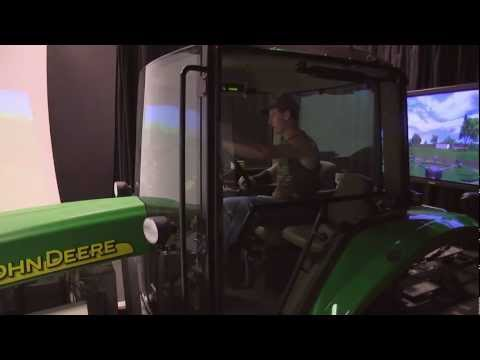 University of Iowa Tractor Simulator Research on YouTube