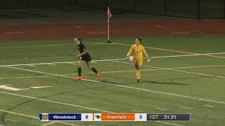 Full game: Woodstock 1, Plainfield 0 in ECC girls