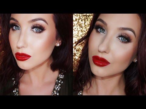Easy Glam Holiday Makeup - Talk Through Tutorial