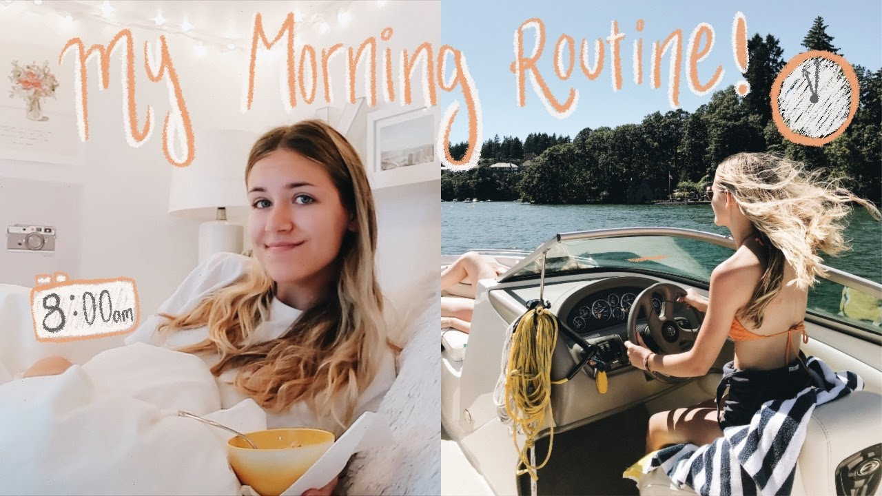 Summer morning routine 2020 *major Outer Banks VIBES*