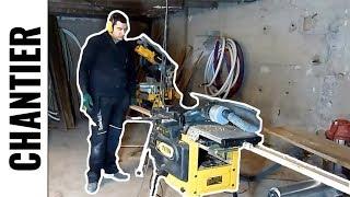 Travail du chêne, avec ma DEWALT D273000 - FR - LJVS