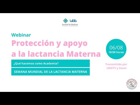 Webinar   Protección y apoyo a la lactancia materna (6 de agosto)