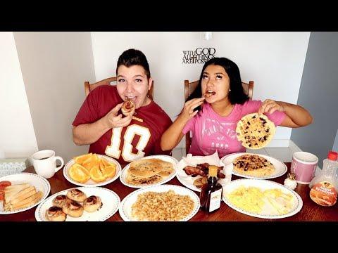 ULTIMATE BREAKFAST MUKBANG | Eating Show
