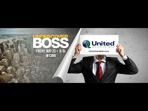 """united-real-estate-group-to-be-featured-on-cbs'-""""undercover-boss,""""-friday-may-20th"""