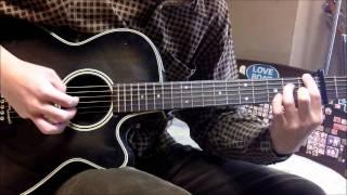 Kanon OP - Last Regrets guitar guitar cover (solo)