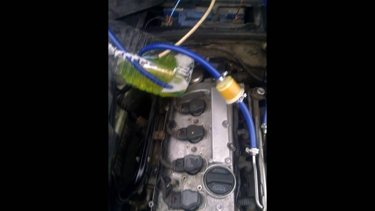 Как промыть топливную систему и раскоксовать двигатель Субару .
