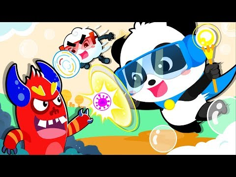 Panda Knight Defeats Bad Germs | Play Safe Song | Nursery Rhymes | Kids Songs | Baby Songs | BabyBus