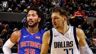 Dallas Mavericks vs Detroit Pistons - Full Game Highlights | December 12, 2019 | 2019-20 NBA Season