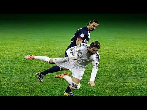 Sergio Ramos Vs Zlatan Ibrahimovic ●Wild Moments