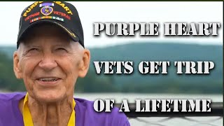 The Purple Heart Honor Mission Gives These Vets The Trip Of A Lifetime